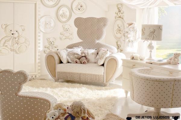 lujos en habitaciones de bebés