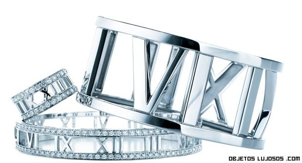 anillos de platino Tiffany