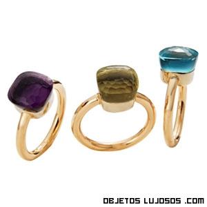 Piedras cuadradas para anillos