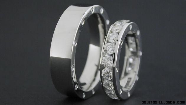anillos de lujo para parejas
