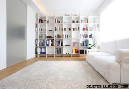 salones de lujo en color blanco