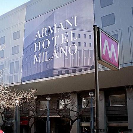 Primer hotel en Milán de Armani