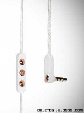 auriculares femeninos de lujo