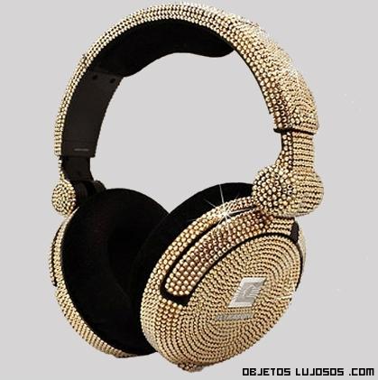 auriculares de oro más caros