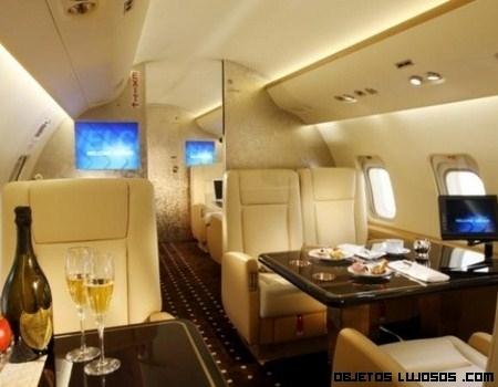 aviones de lujo