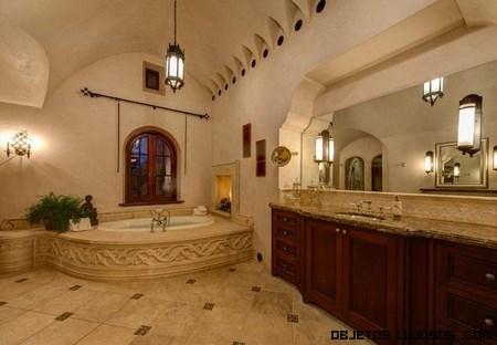 Baños de lujo en mansiones
