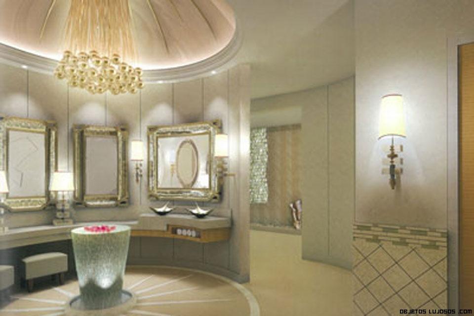 baños exclusivos en mármol