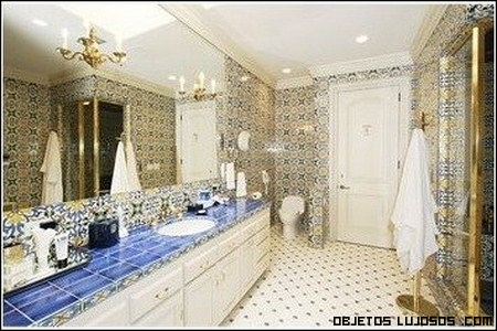 baño de Robbie Williams