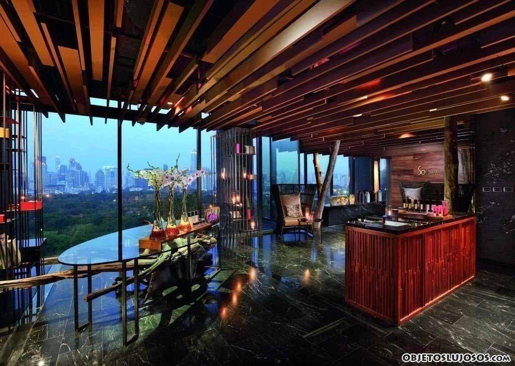 bares de hoteles de lujo