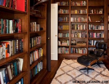 bibliotecas en madera