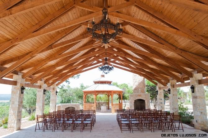 bodas de lujo al aire libre