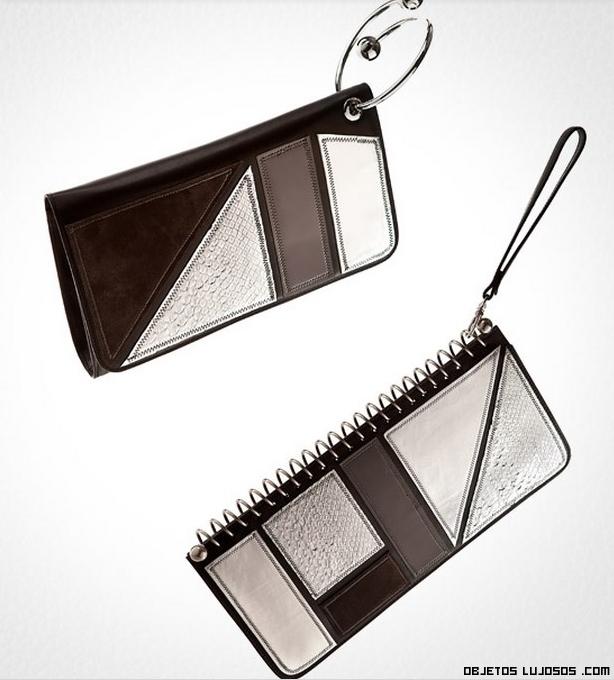 bolsos metalizados de lujo