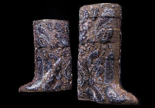 Botas de piel de ternero
