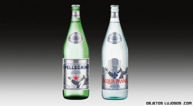 Botellas dedicadas a famosos cantantes