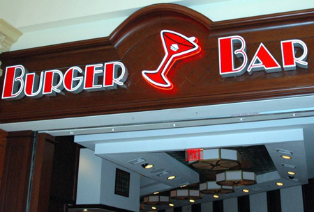 Burger Bar en el Mandalay Bay Hotel