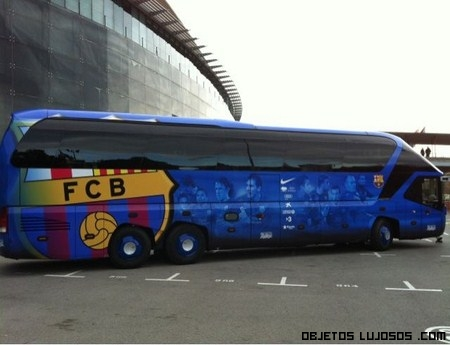 Nuevo bus del Barça