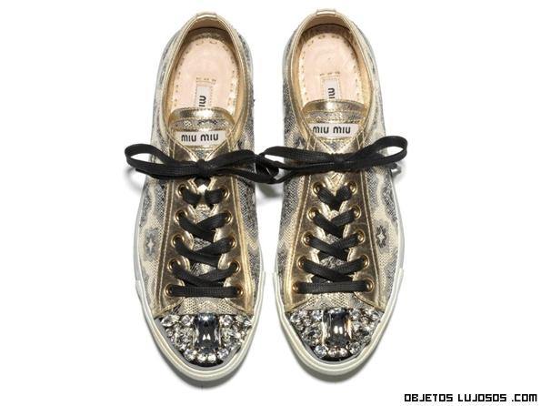 zapatillas estampadas de lujo
