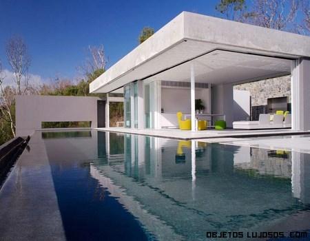 Casa con terrazas de lujo
