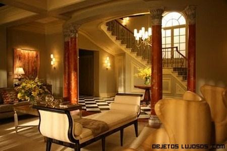 Mansiones de lujo vistas en películas