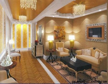 pasillos de lujo en mansiones