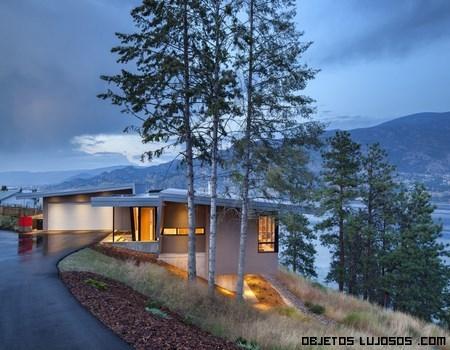 casas ecológicas en la naturaleza