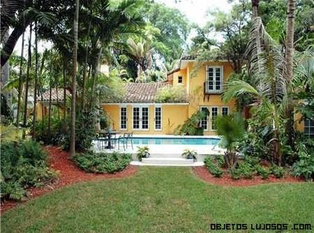 casas con palmeras