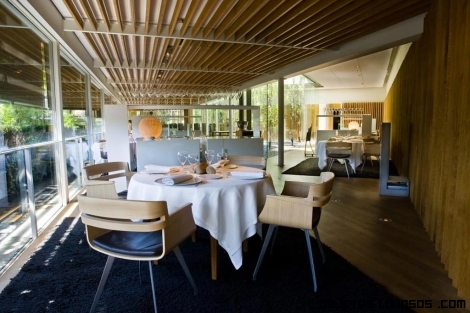 terrazas de lujo en restaurantes