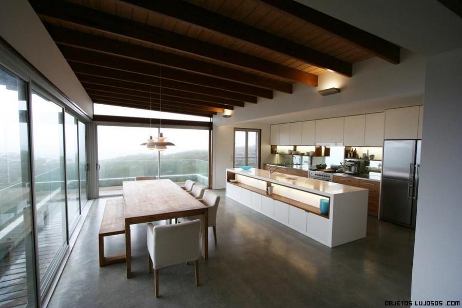 cocinas con vistas de lujo