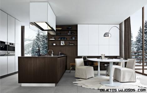 cocinas con muebles de lujo