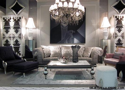 combinación blanco y negro para decoración