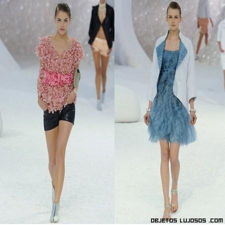 Moda Chanel 2012 primavera-verano