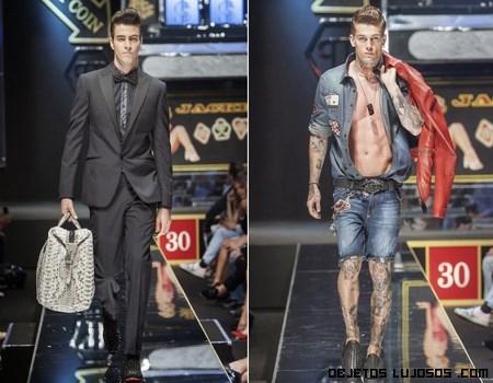 Moda masculina de diversos estilos