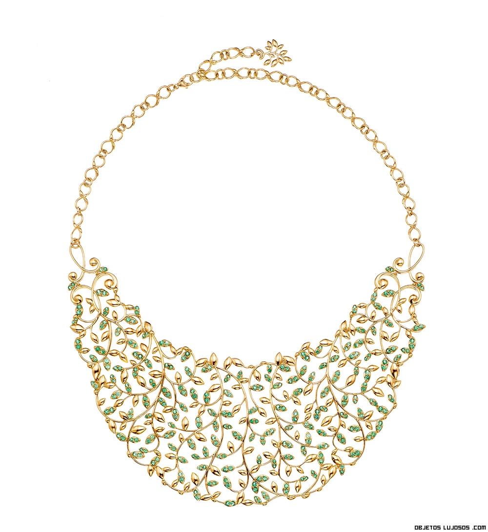 collares de lujo con oro