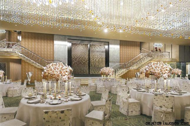 lámparas de lujo en casas de famosos