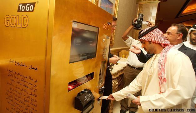 máquinas para comprar oro