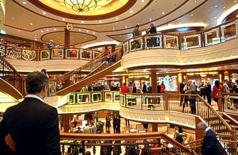 Salas de lujo en barcos