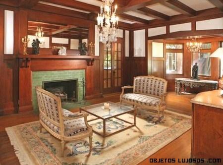 Salones en casas antiguas