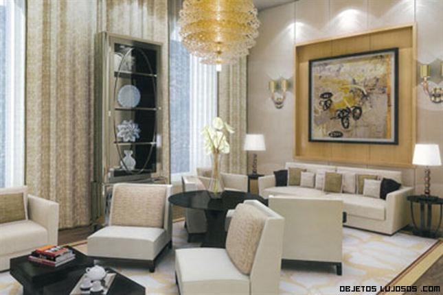 salas de estar lujosas