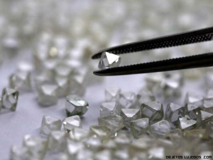 Moda de lujo con diamantes