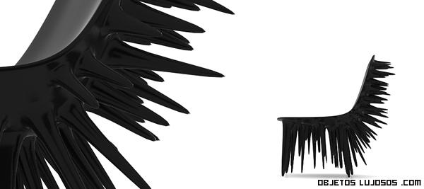 Sillas de lujo en color negro
