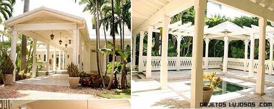 Casas de famosos en Star island