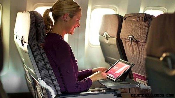 ideas para disfrutar de un viaje de avión