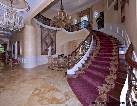 escaleras en mansiones