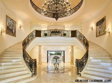 Escaleras de mármol