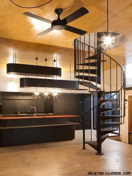 Interiores de lujo en madera