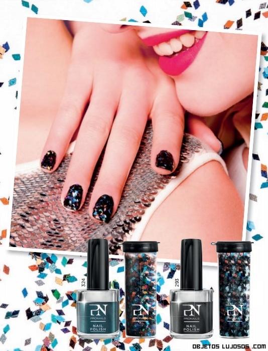 glitter para uñas de lujo