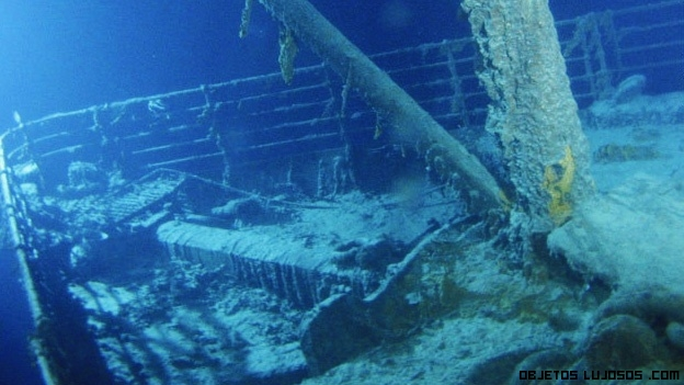 partes del barco Titanic
