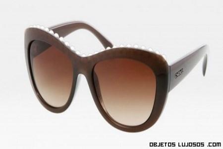 gafas con detalles de lujo