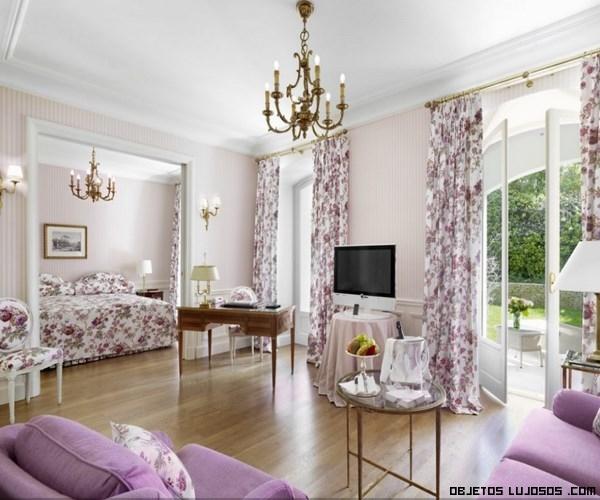 habitaciones de lujo con vistas al jardín