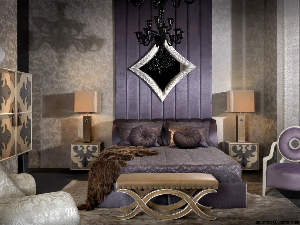 habitaciones con colores de lujo